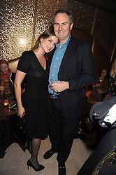 WILLIAM & VANESSA CASH at a party to celebrate the 10th birthday issue of Spears Wealth Management Survey held at Molton House, South Molton Street, London on 25th November 2008.