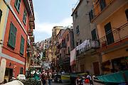 Italy, Liguria region, The village of Manarola in Cinque Terre National Park