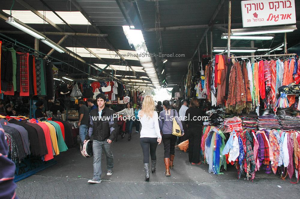 Israel, Tel Aviv, The Carmel street Market