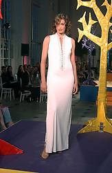 YASMIN LE BON at 'Horticouture' a charity fashion show to raise funds for Tommy's, the baby charity and The Royal Botanic Gardens, Kew held at Kew on 12th May 2005.<br /><br />NON EXCLUSIVE - WORLD RIGHTS