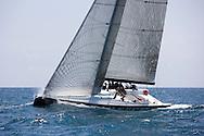 08_00046 © Sander van der Borch. Valencia - Spain,  1st may 2008 . TP52 Mean Machine Sea Trials in Valencia.