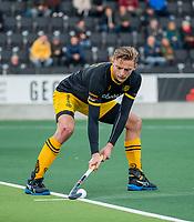 AMSTELVEEN -   Noud Schoenaker (Den Bosch)  tijdens de competitie hoofdklasse hockeywedstrijd mannen, Amsterdam- Den Bosch (2-3).  COPYRIGHT KOEN SUYK