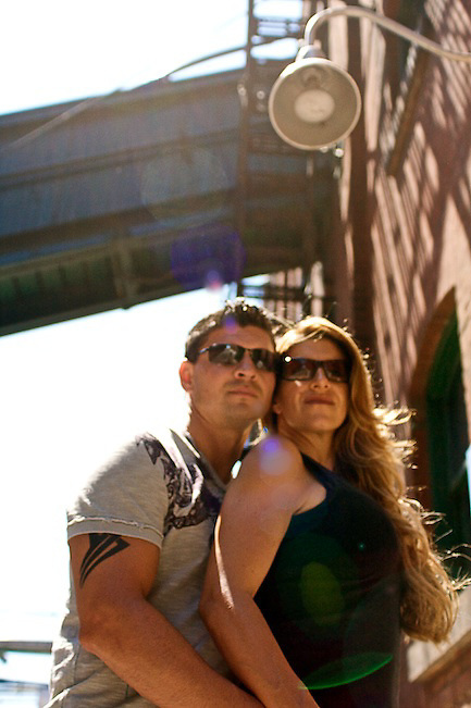 Melinda and Alex Engagement Lifestyle Session, The Distillery District, Toronto Canada.