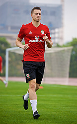 NANNING, CHINA - Saturday, March 24, 2018: Wales' Billy Bodin during a training session at the Guangxi Sports Centre ahead of the 2018 Gree China Cup International Football Championship final match against Uruguay. (Pic by David Rawcliffe/Propaganda)