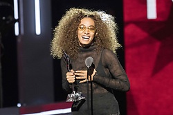 August 6, 2017 - New Jersey, U.S - Singer, songwriter, SOLANGE, at the 2017 Black Girls Rock awards show. Black Girls Rock 2017 was held at the New Jersey Performing Arts Center in Newark New Jersey. (Credit Image: © Ricky Fitchett via ZUMA Wire)