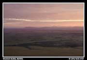 Dawn Breaking Over The Mara.Maasai Mara, Kenya.September 2012