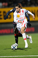 FOOTBALL - FRENCH CHAMPIONSHIP 2010/2011 - L1 - AS NANCY v PARIS SAINT GERMAIN - 22/12/2010 - PHOTO GUILLAUME RAMON / DPPI - YOUSSOUF HADJI (NANCY)