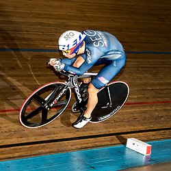28-12-2015: Wielrennen: NK Baan: Alkmaar   <br />ALKMAAR (NED) baanwielrennen<br />Op de wielerbaan van Alkmaar streden de wielrenners om de nationale baantitels. Steven Lammertink (enter) werd achtste op de kwalificatie
