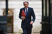 UNITED KINGDOM, London: 1 March 2016. Foreign Secretary Philip Hammond arrives in Downing Street to attend Cabinet meeting in central London.  Pic by Andrew Cowie / Story Picture Agency