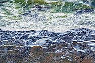 Abstract sea water at the Atlantic coast, Morocco.