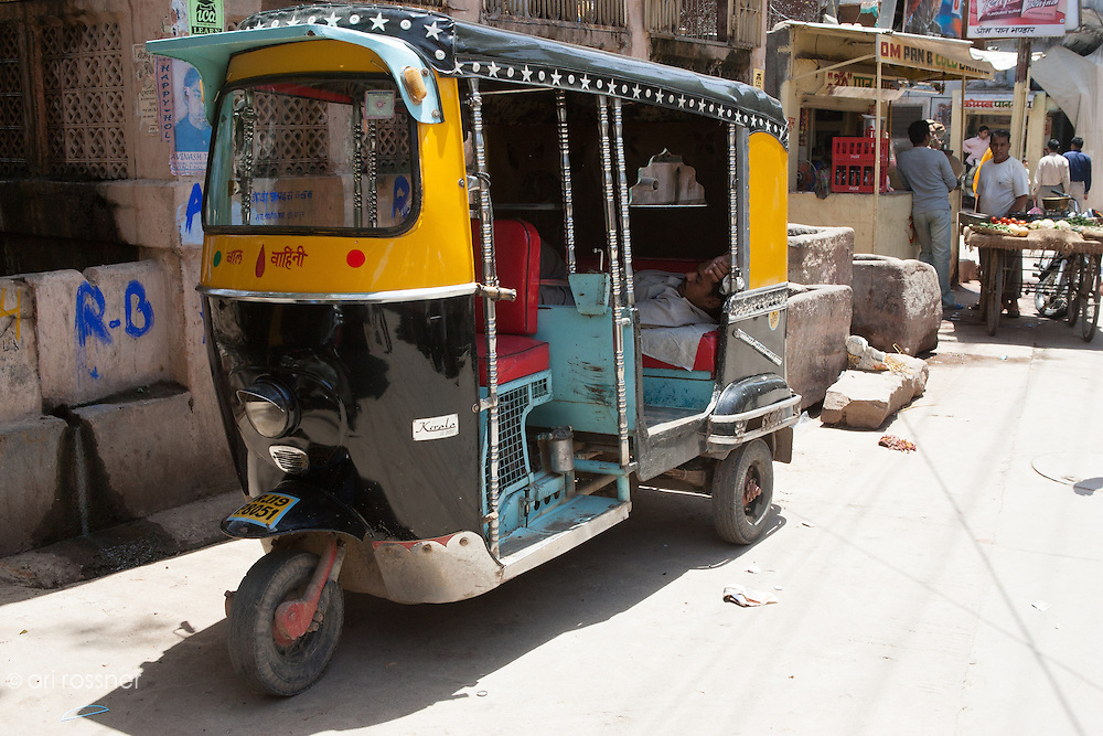 Rickshaw in the street