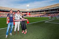 ROTTERDAM - Feyenoord - Olympiakos FC, Voetbal , Seizoen 2015/2016 , oefenwedstrijd , Stadion de Kuip , 01-07-2015 , Vriendenloterij