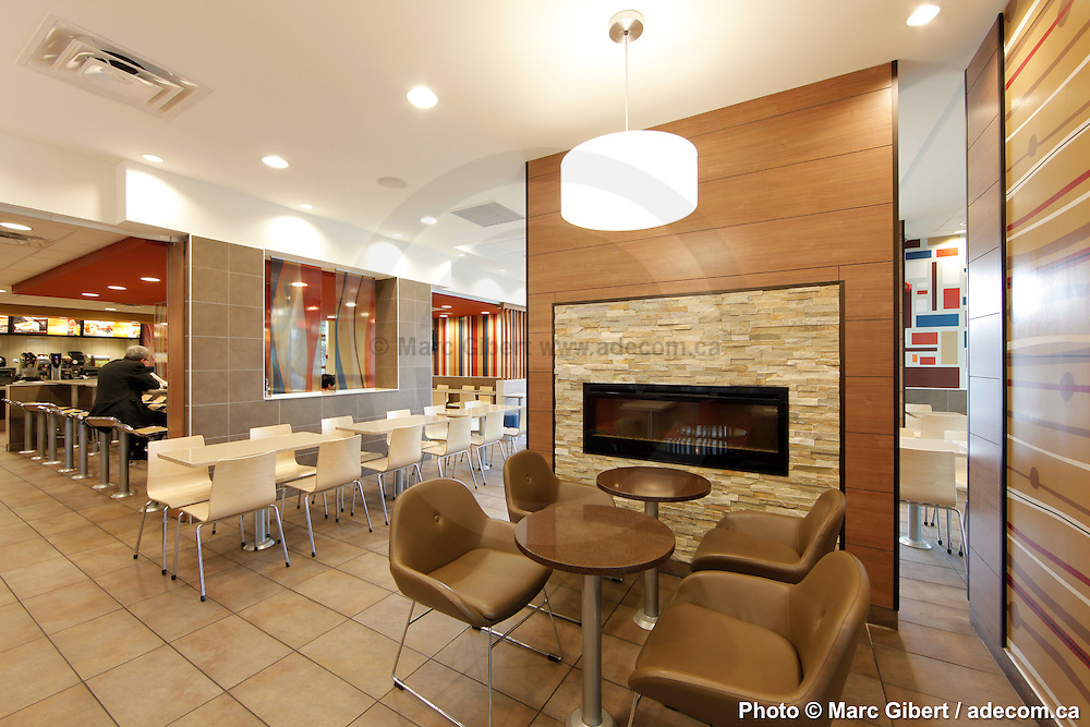 Mcdonalds Interior Design interior and exterior achitectural photographies of mcdonald's
