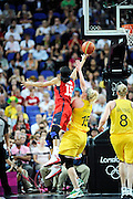 DESCRIZIONE : Basketball Jeux Olympiques Londres Demi finale<br /> GIOCATORE : Parker Candace USA <br /> SQUADRA : USA FEMME<br /> EVENTO : Jeux Olympiques<br /> GARA : USA AUSTRALIE<br /> DATA : 09 08 2012<br /> CATEGORIA : Basketball Jeux Olympiques<br /> SPORT : Basketball<br /> AUTORE : JF Molliere <br /> Galleria : France JEUX OLYMPIQUES 2012 Action<br /> Fotonotizia : Jeux Olympiques Londres demi Finale Greenwich Arena<br /> Predefinita :