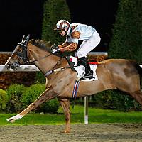 Caspian Prince and Mark Combe winning the 4.40 race