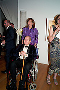 LADY SNOWDON;  LORD SNOWDON; The Royal College of Art Fashion Gala. Kensington Gore. London. 11 June 2009.