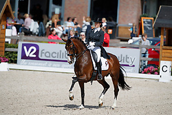 Zweistra Thamar, NED, Hexagons Filamanda<br /> Nederlands Kampioenschap Dressuur <br /> Ermelo 2017<br /> © Hippo Foto - Dirk Caremans<br /> 15/07/2017