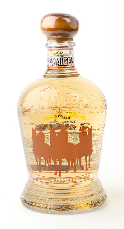 3 Amigos reposado -- Image originally appeared in the Tequila Matchmaker: http://tequilamatchmaker.com