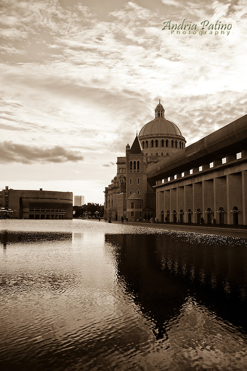 Christian Science Center Reflective Pool, Boston