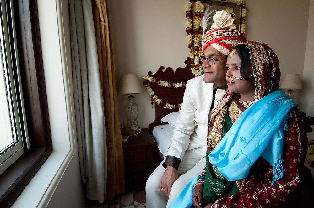Newly wed couple will spend the first nights of their marriage in a decorated room (suhaag raat).