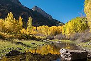 Fall scenery in Aspen, Colorado.