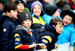 Worcester Warriors fans - Mandatory by-line: Robbie Stephenson/JMP - 28/01/2017 - RUGBY - Sixways Stadium - Worcester, England - Worcester Warriors v Harlequins - Anglo Welsh Cup