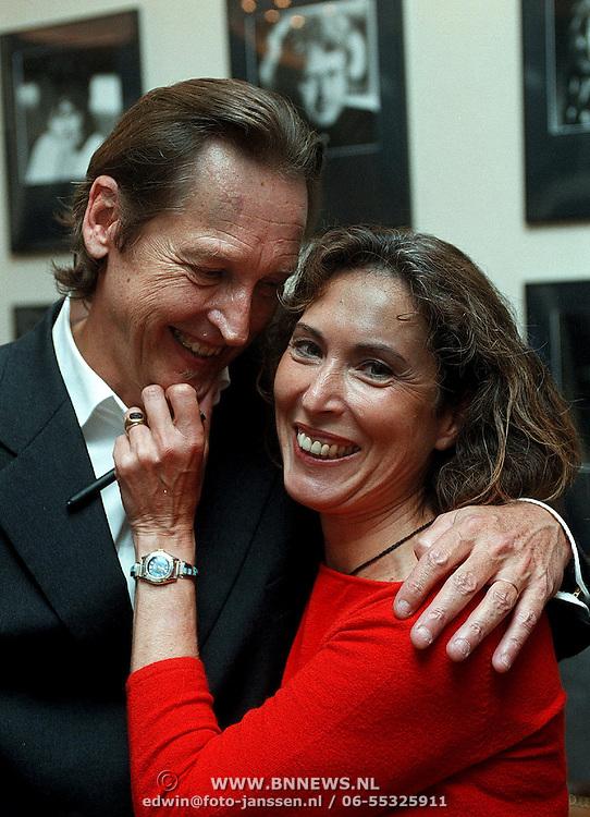 Boekpresentatie Patricia Steur, Patricia en haar man Erik Roelof Hazelma