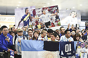 SHANGHAI, CHINA - JANUARY 19: <br /> <br /> Carlos Tevez Arrives In Shanghai<br /> <br /> Argentine footballer Carlos Tevez arrives at the airport on January 19, 2017 in Shanghai, China. Carlos Tevez will play for Shanghai Greenland Shenhua F.C. in the 2017 Chinese Football Association Super League (CSL) match. <br /> ©Exclusivepix Media