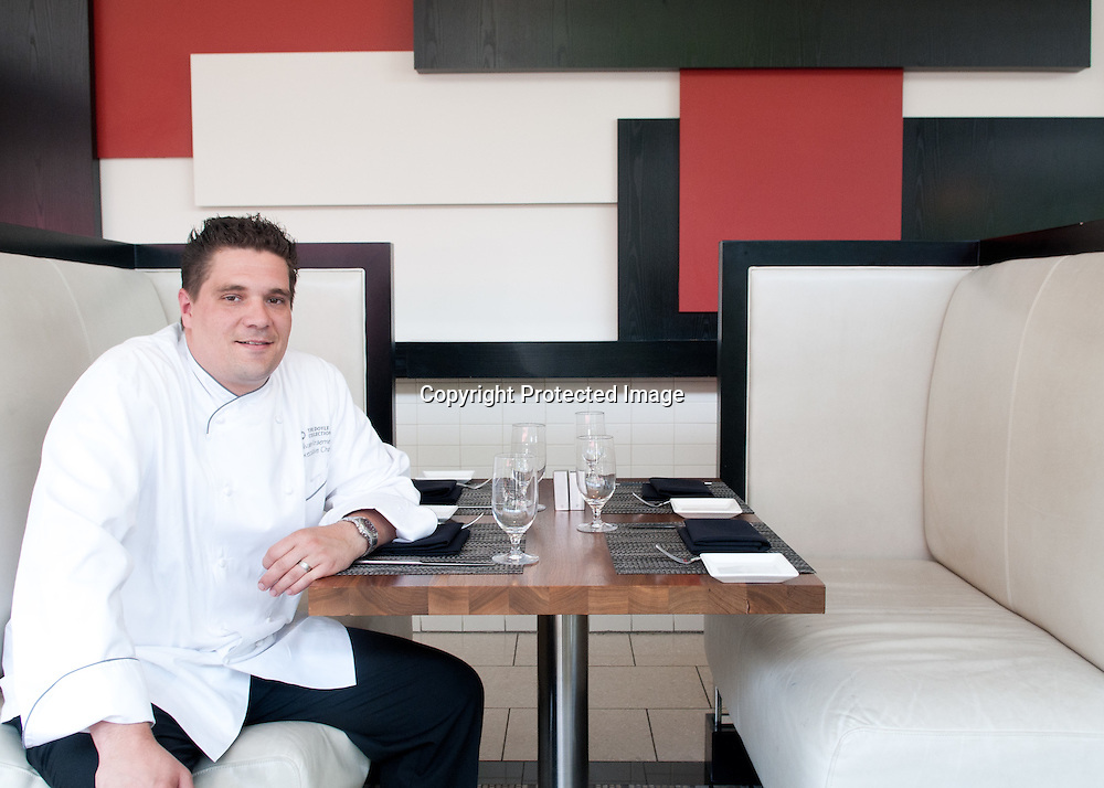 Chef Silvan Kramer, Executive Chef at Cafe Dupont in Washington DC.