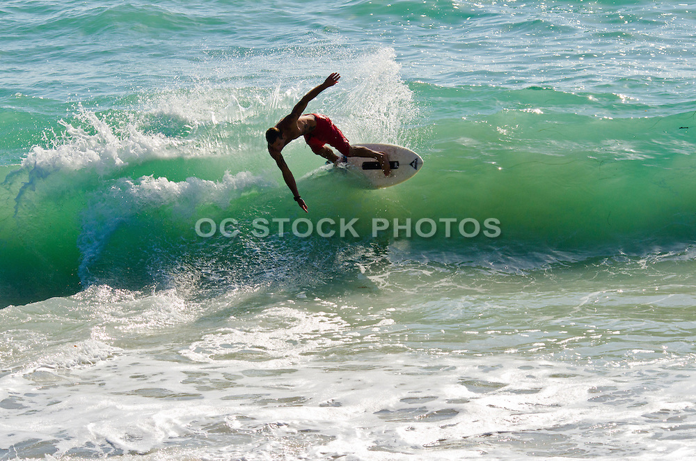Surfing Aliso Beach Orange County California