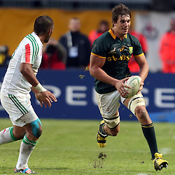 PADUA, ITALY - NOVEMBER 22: Eben Etzebeth of South Africa during the Castle Lager Outgoing Tour match between Italy and South African at Stadio Euganeo on November 22, 2014 in Padua, Italy. (Photo by Steve Haag/Gallo Images)