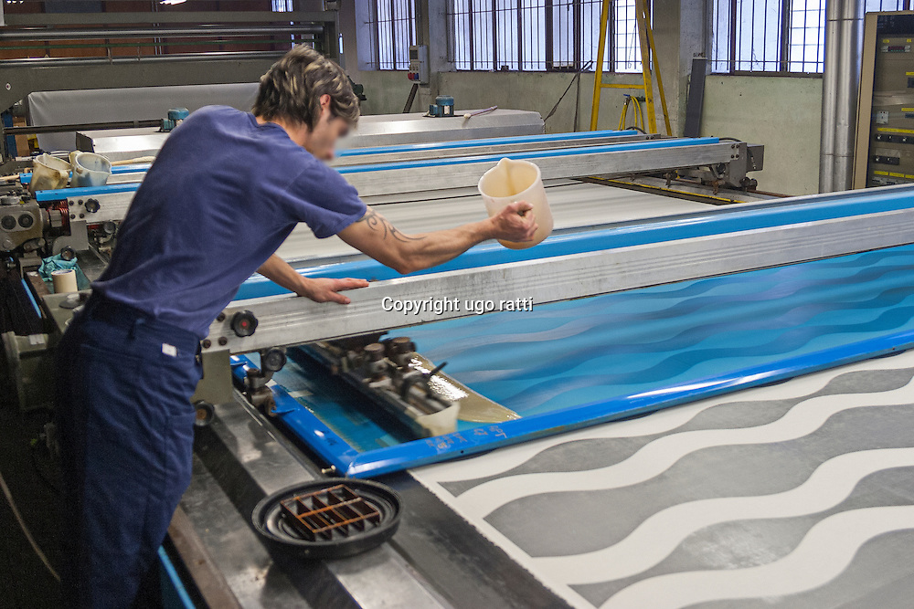 italy, textile industry, textile printing