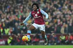 Carlos Sanchez of Aston Villa - Mandatory byline: Dougie Allward/JMP - 13/12/2015 - Football - Villa Park - Birmingham, England - Aston Villa v Arsenal - Barclays Premier League