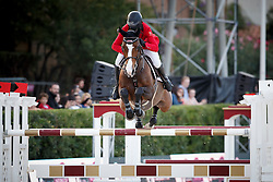 El Zoghby Karim, (EGY), Amelia <br /> First Round<br /> Furusiyya FEI Nations Cup Jumping Final - Barcelona 2015<br /> © Dirk Caremans<br /> 24/09/15