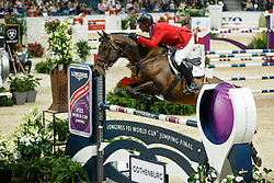 Judge Quentin, (USA), HH Copin van de Broy<br /> Longines FEI World Cup Final 1 - Goteborg 2016<br /> © Hippo Foto - Dirk Caremans<br /> 25/03/16