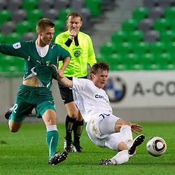 20101023: SLO, Football - PrvaLiga, NK Olimpija vs NK Celje