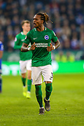 Brighton and Hove Albion defender Gaetan Bong (3) during the Premier League match between Leicester City and Brighton and Hove Albion at the King Power Stadium, Leicester, England on 26 February 2019.