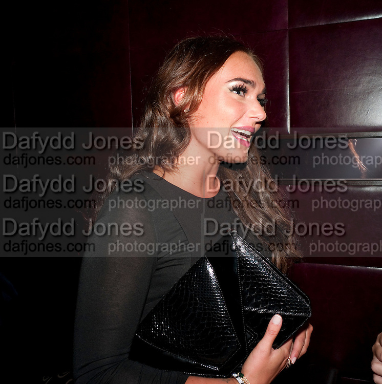 TAMARA ECCLESTONE, launch of Fabulous Haircare Range, Frankie's Italian Bar and Grill, 3 Yeomans Row, off Brompton Road, London SW3, 7pm