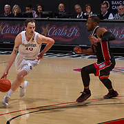 19 February 2017: The San Diego State Aztec's mens basketball team hosts UNLV Sunday afternoon at Viejas Arena. <br /> www.sdsuaztecphotos.com