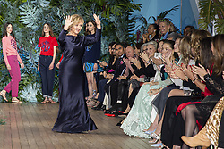 Alberta Ferretti, Pierre Casiraghi, Beatrice Borromeo, Eva Longoria attend the Alberta Ferretti cruise collection fashion show held at Monaco Yacht Club, Monaco on May 18 , 2109. Photo by ABACAPRESS.COM