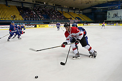 20.04.2016, Dom Sportova, Zagreb, CRO, IIHF WM, England vs Litauen, Division I, Gruppe B, im Bild ALISAUSKAS Nerijus. // during the 2016 IIHF Ice Hockey World Championship, Division I, Group B, match between Great Britain and Lithuania at the Dom Sportova in Zagreb, Croatia on 2016/04/20. EXPA Pictures © 2016, PhotoCredit: EXPA/ Pixsell/ Dalibor Urukalovic<br /> <br /> *****ATTENTION - for AUT, SLO, SUI, SWE, ITA, FRA only*****