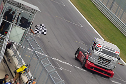 07.07.2013, Red Bull Ring, Spielberg, AUT, Truck Race Trophy, Renntag 2, im Bild Dominique Orsini, (FRA, Dominique Orsini, #19) // during the Truck Race Trophy 2013 at the Red Bull Ring in Spielberg, Austria, 2013/07/07, EXPA Pictures © 2013, PhotoCredit: EXPA/ M.Kuhnke