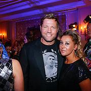 NLD/Amsterdam/20121112 - Beau Monde Awards 2012, Dennis van der Geest en partner Zaina Mohamed