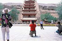 Chine. Province du Gansu. Dunhuang. // China. Gansu Province. Dunhuang.