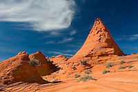 Sandstone rock formations, South Coyote Buttes, Paria Canyon-Vermillion Cliffs Wilderness Arizona USA beautiful