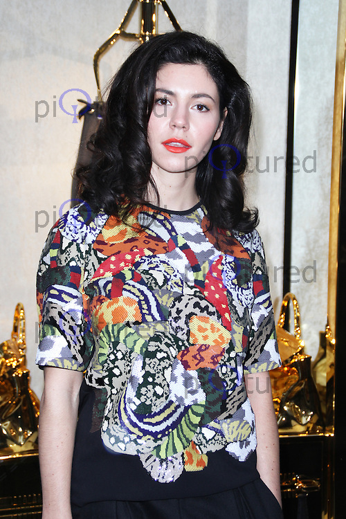 Marina Diamandis, Fendi - Store Launch Party, New Bond Street, London UK, 01 May 2014, Photo by Brett D. Cove