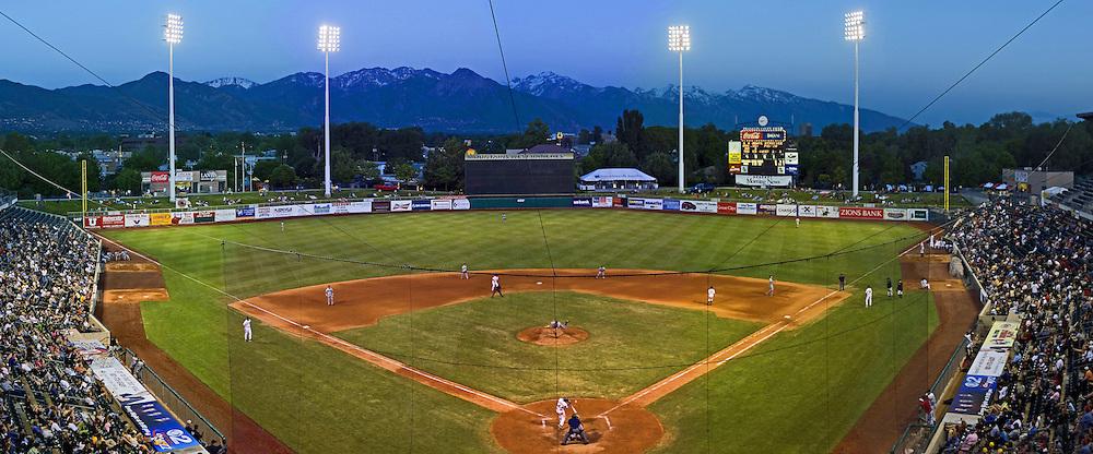 New Orleans Zephfyrs against Salt Lake Bees May 25. 2006 at Franklin Covey Field in Salt Lake City, Utah.  August Miller