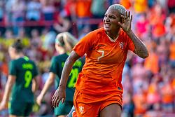 01-06-2019 NED: Netherlands - Australia, Eindhoven<br /> <br /> Friendly match in Philips stadion Eindhoven. Netherlands win 3-0 / Shanice van de Sanden #7 of The Netherlands score 3-0