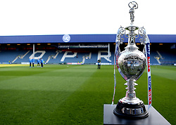 The Sky Bet Championship Trophy at Loftus Road, home of Queens Park Rangers - Mandatory by-line: Robbie Stephenson/JMP - 07/04/2017 - FOOTBALL - Loftus Road - Queens Park Rangers, England - Queens Park Rangers v Brighton and Hove Albion - Sky Bet Championship