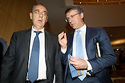 Rome jun 15th 2016, debate on justice and magistrature. In the picture Giovanni Legnini, president of Magistrature Superior Council, and Raffaele Cantone, president of National Authority Against Corruption  - © PIERPAOLO SCAVUZZO
